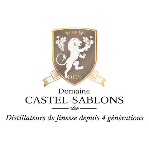 Création logo Cognac - Castel Sablons by Synap TIC