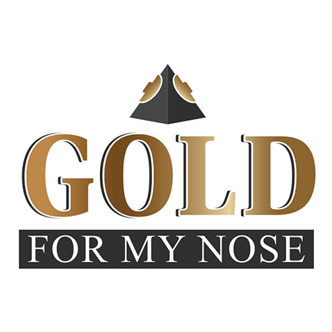 Création logo Migron - Gold For My Nose by Synap TIC