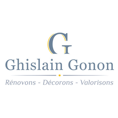 Création logo Peintre en bâtiment - Ghislain Gonon by Synap TIC