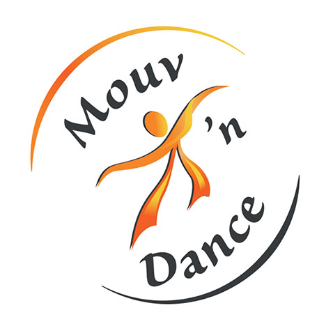 Création logo Rochefort - Mouv n dance by Synap TIC