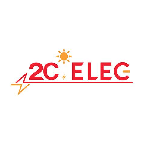 Création logo Saint Porchaire - Geay - 2C Elec by Synap TIC