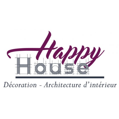 Création logo Saujon - Happy House by Synap TIC