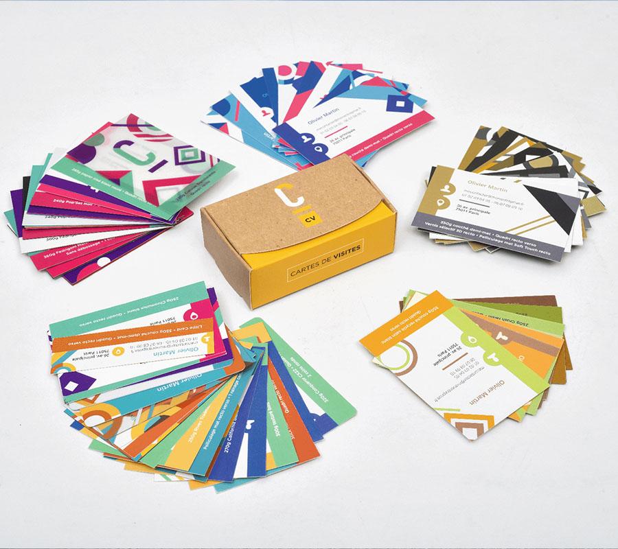 Kit echantillon de papiers d'impression